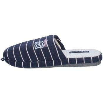 Chaussures Homme Chaussons De Fonseca ROMA TOP I M650 BLEU