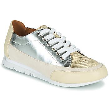 Chaussures Femme Baskets basses Karston CAMINO Beige / Argent