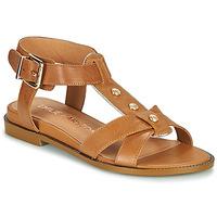 Chaussures Femme Sandales et Nu-pieds Karston SOCAS Camel