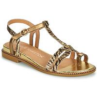 Chaussures Femme Sandales et Nu-pieds Karston SOREN Doré
