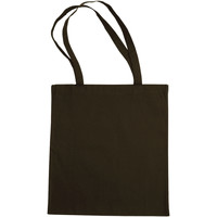 Sacs Cabas / Sacs shopping Bags By Jassz 3842LH Marron foncé