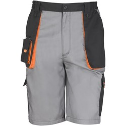 Vêtements Shorts / Bermudas Result R319X Gris/Noir/Orange