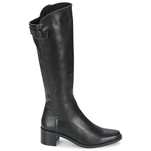 Ville Femme Noir London Salina Bottes Betty Chaussures rdCotshQxB
