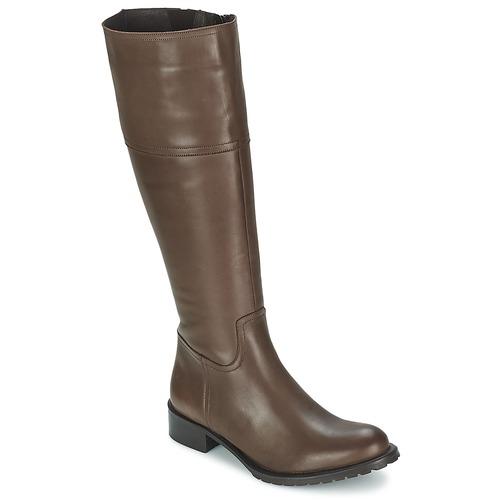 Chaussures Femme Bottes ville Betty London CAVAK Marron