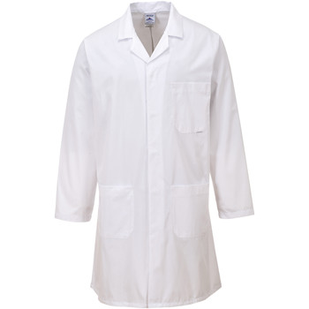 Vêtements Manteaux Portwest  Blanc