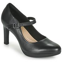 Chaussures Femme Escarpins Clarks AMBYR SHINE Noir