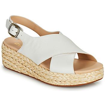 Chaussures Femme Sandales et Nu-pieds Clarks KIMMEI CROSS Blanc