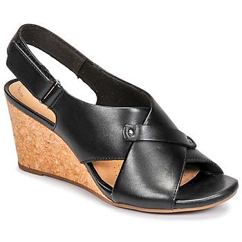 Chaussures Femme Sandales et Nu-pieds Clarks MARGEE EVE Noir