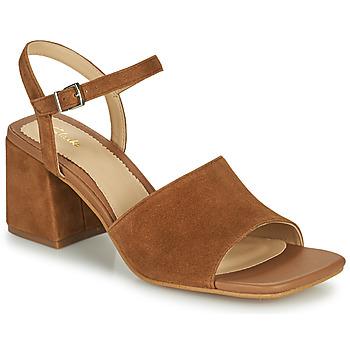 Chaussures Femme Sandales et Nu-pieds Clarks SHEER65 BLOCK Camel