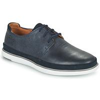 Chaussures Homme Derbies Clarks BRATTON LACE Bleu