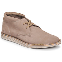 Chaussures Homme Boots Clarks FORGE STRIDE Gris