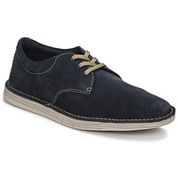 Chaussures Homme Derbies Clarks FORGE VIBE Bleu
