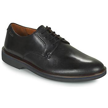 Chaussures Homme Derbies Clarks MALWOOD PLAIN Noir