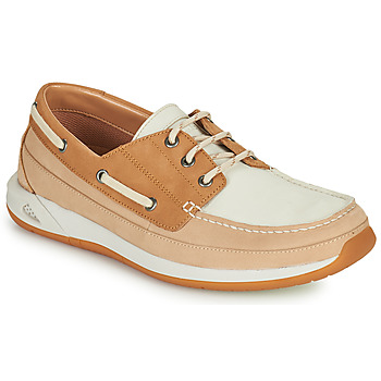 Chaussures Homme Chaussures bateau Clarks ORMAND BOAT Beige