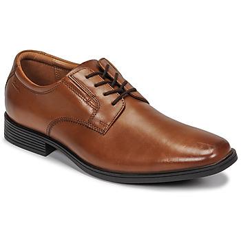 Chaussures Homme Derbies Clarks TILDEN PLAIN Marron