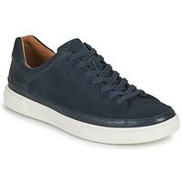 Chaussures Homme Baskets basses Clarks UN COSTA TIE Bleu
