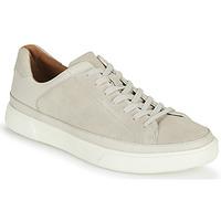 Chaussures Homme Baskets basses Clarks UN COSTA TIE Blanc