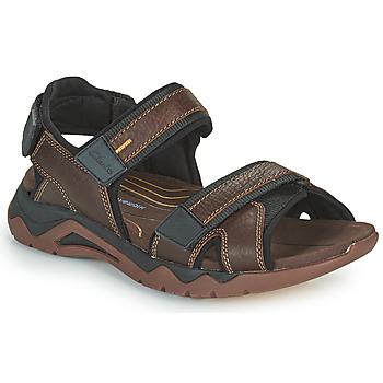 Chaussures Homme Sandales sport Clarks WAVE2.0 JAUNT Marron