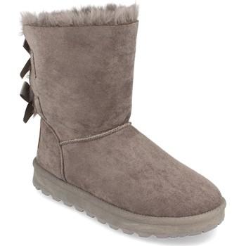 Chaussures Femme Bottes de neige Woman Key 2000-31 Gris