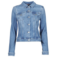 Vêtements Femme Vestes en jean Tommy Hilfiger SLIM JACKET JUL Bleu
