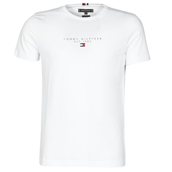 Vêtements Homme T-shirts manches courtes Tommy Hilfiger ESSENTIAL TOMMY TEE Blanc