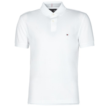 Vêtements Homme Polos manches courtes Tommy Hilfiger 1985 REGULAR POLO Blanc