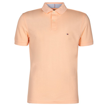 Vêtements Homme Polos manches courtes Tommy Hilfiger 1987 REGULAR POLO Saumon