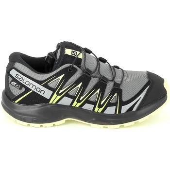 Chaussures Garçon Randonnée Salomon XA Pro 3D CSWP K Gris Jaune Gris