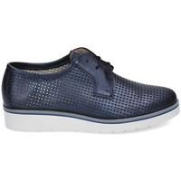 Chaussures Femme Derbies & Richelieu Kennebec 6065 P.CUADRADITOS Bleu