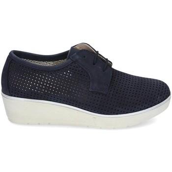 Chaussures Femme Derbies & Richelieu Kennebec 7001 P. CUADRADITO Bleu