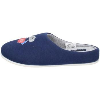 Chaussures Garçon Chaussons De Fonseca TORINO I K650 BLEU