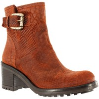 Chaussures Femme Bottines E-cow andreia turati rugine orange