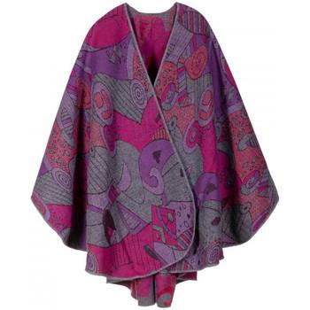 Vêtements Femme Pulls Qualicoq Poncho Betsy Fuchsia