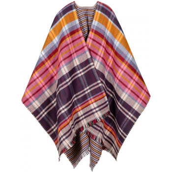 Vêtements Femme Gilets / Cardigans Qualicoq Poncho Kilty multicolore