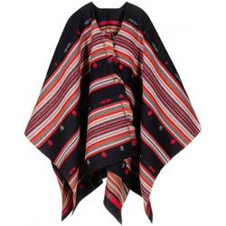 Vêtements Femme Gilets / Cardigans Qualicoq Poncho Yucatan Rouge