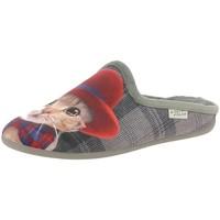 Chaussures Femme Sabots La Maison De L'espadrille 9048 rouge