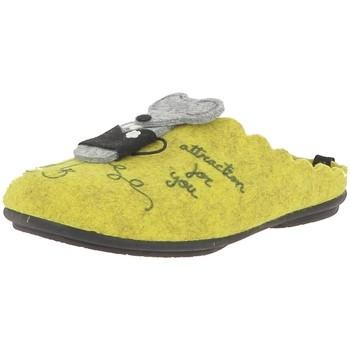 Chaussures Femme Sabots La Maison De L'espadrille 9053 jaune