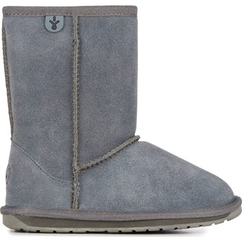 Chaussures Enfant Bottes de neige EMU Wallaby Lo Teens Charcoal