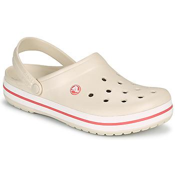 Chaussures Femme Sabots Crocs CROCBAND Beige / Corail