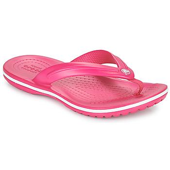 Chaussures Enfant Tongs Crocs CROCBAND FLIP GS Rose