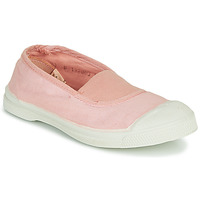 Chaussures Fille Baskets basses Bensimon TENNIS ELASTIQUE Rose