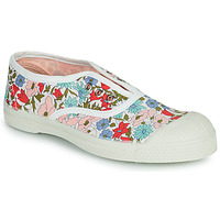 Chaussures Fille Baskets basses Bensimon LIBERTY Blanc / Bleu