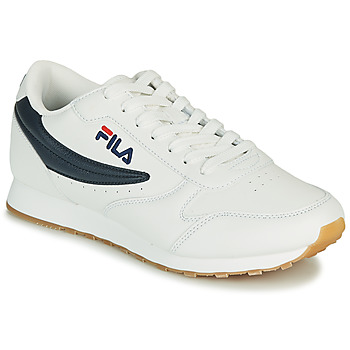 Chaussures Homme Baskets basses Fila ORBIT LOW Blanc / Bleu