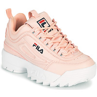 Chaussures Fille Baskets basses Fila DISRUPTOR KIDS Rose