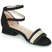 Chaussures Femme Sandales et Nu-pieds Peter Kaiser PUERTO Noir