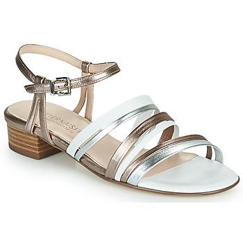 Chaussures Femme Sandales et Nu-pieds Peter Kaiser PATIA Bronze / Blanc