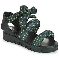 Chaussures Femme Sandales et Nu-pieds Papucei LILLA Bleu / Noir