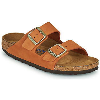 Chaussures Femme Mules Birkenstock ARIZONA SFB Orange