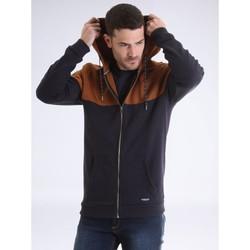 Vêtements Gilets / Cardigans Ritchie Sweat zippé capuche WICKER Marron