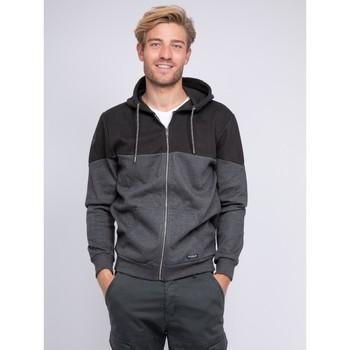 Vêtements Homme Sweats Ritchie Sweat zippé capuche WICKER Noir